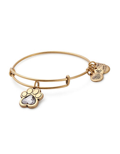 Alex And Ani Prints of Love Charm Bangle ASPCA-GOLD-One Size