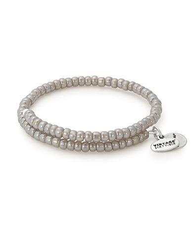 Alex And Ani Thunder Primal Spirit Wrap Bracelet-SILVER-One Size