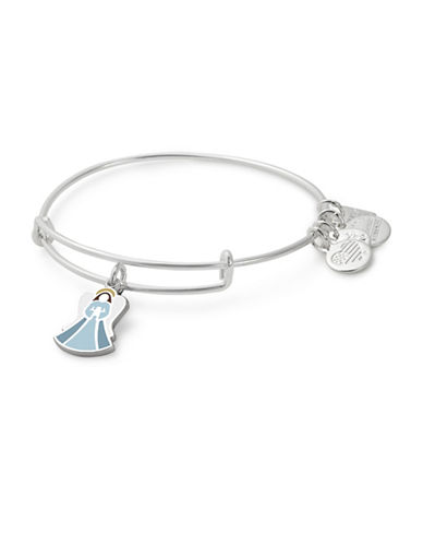 Alex And Ani Angel Charm Bangle-SILVER-One Size