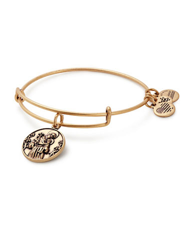 Alex And Ani St. Anthony Charm Bangle-GOLD-One Size