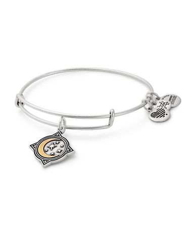Alex And Ani Moonlight Charm Bangle-SILVER-One Size