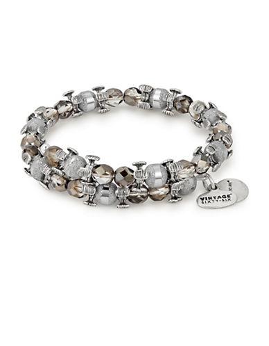 Alex And Ani Moon Splendor Wrap Bracelet-SILVER-One Size