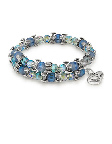 Alex And Ani Twilight Splendor Wrap Bracelet-BLUE-One Size