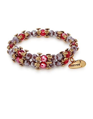 Alex And Ani Splendor Wrap Bracelet-PURPLE-One Size