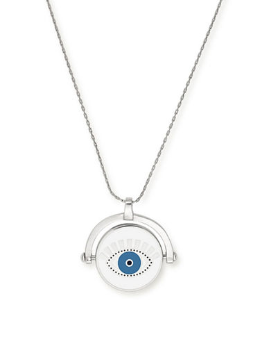 Alex And Ani Meditating Eye Colour Infusion Expandable Necklace David Lynch Foundation-SILVER-One Size