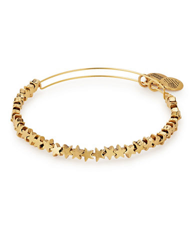 Alex And Ani Expandable Star Beaded Bracelet-GOLD-One Size