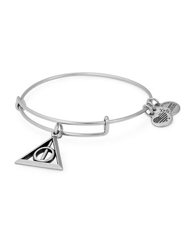 Alex And Ani Harry Potter Deathly Hallows Charm Bangle-SILVER-One Size