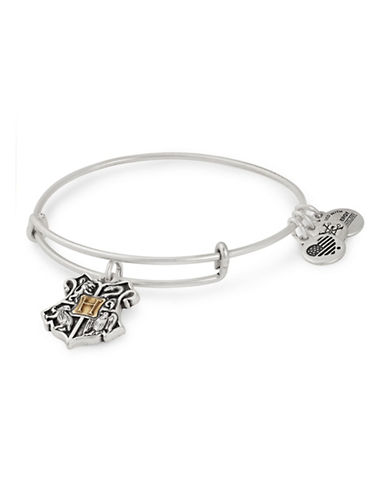 Alex And Ani Harry Potter Hogwarts Two-Tone Charm Bracelet-SILVER-One Size