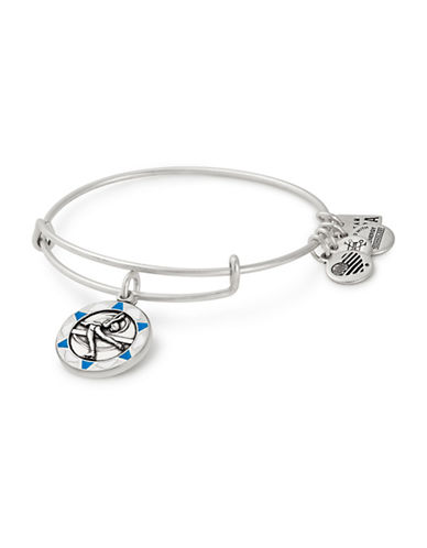 Alex And Ani Team USA Figure Skating Charm Bangle-SILVER-One Size