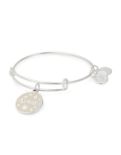 Alex And Ani Harry Potter Always Charm Bangle-SILVER-One Size