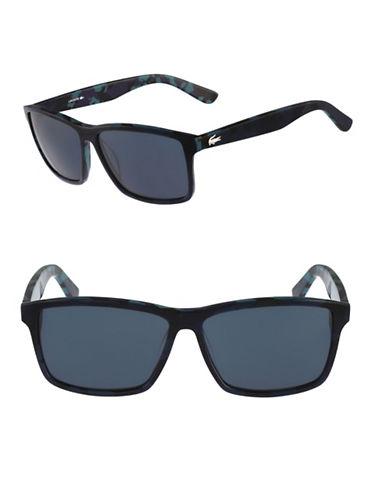 Lacoste L705S Wayfarer Sunglasses-BLUE / CAMOUFLAGE-One Size