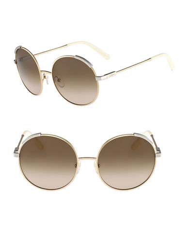 Chloé CE117S Eria Sunglasses-LIGHT GOLD / IVORY-One Size