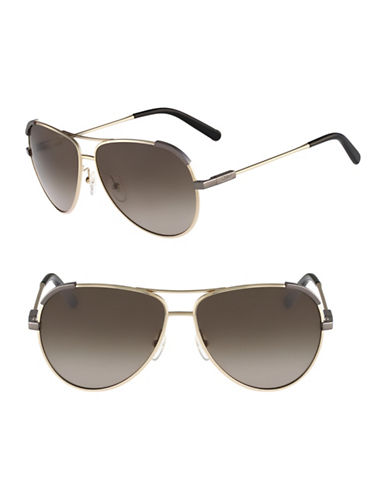 Chloé CE118S Eria Sunglasses-LIGHT GOLD / KHAKI-One Size