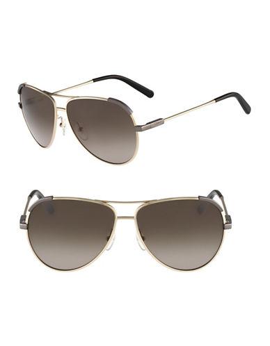 Chloé CE118S Eria Sunglasses-LIGHT GOLD / KHAKI-One Size
