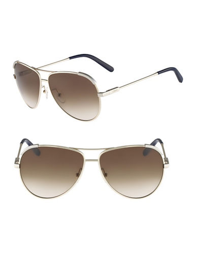 Chloé CE118S Eria Sunglasses-LIGHT GOLD / BLUE-One Size