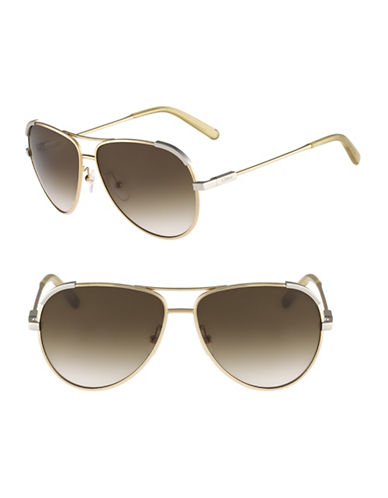 Chloé CE118S Eria Sunglasses-LIGHT GOLD / BEIGE-One Size