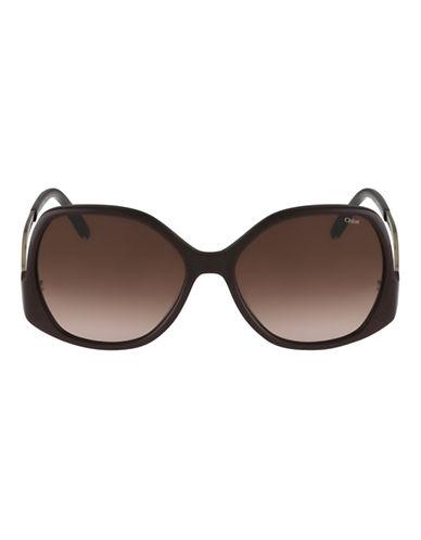 Chloé CE675S Emilia Sunglasses-CHOCOLATE-One Size