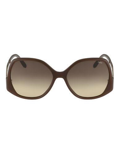 Chloé CE675S Emilia Sunglasses-LIGHT BROWN-One Size