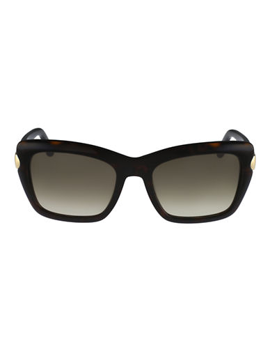 Ferragamo Square Shape Sunglasses SF763S-TORTOISE-One Size