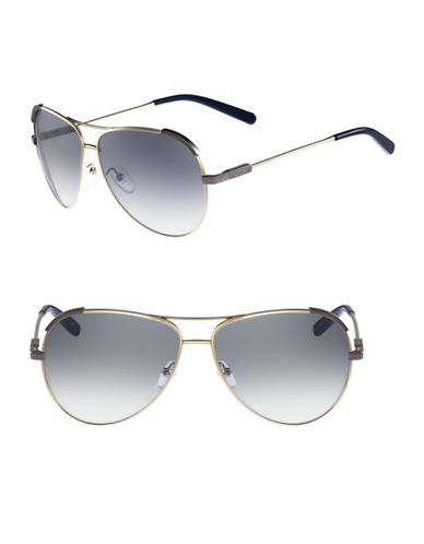 Chloé CE118S Eria Sunglasses-GOLD / BLUE-One Size
