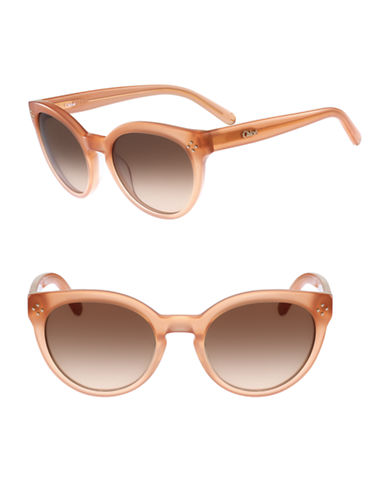 Chloé CE691S Boxwood Sunglasses-PEACH-One Size