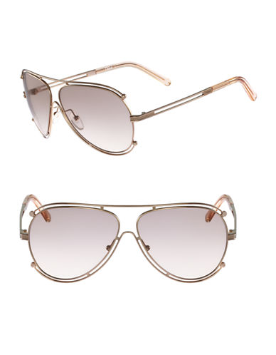 Chloé CE121S Isidora Sunglasses-ROSEGOLD / PEACH-One Size