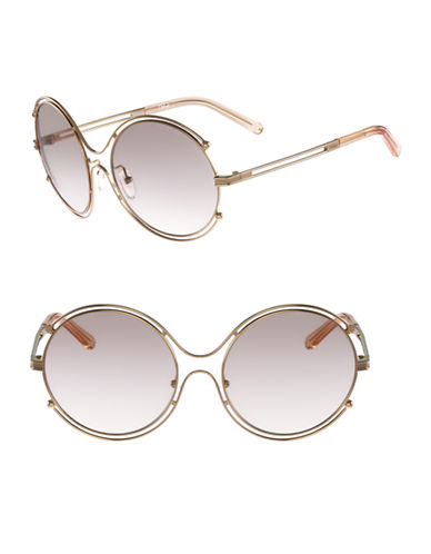 Chloé CE122S Isidora Sunglasses-ROSEGOLD / PEACH-One Size