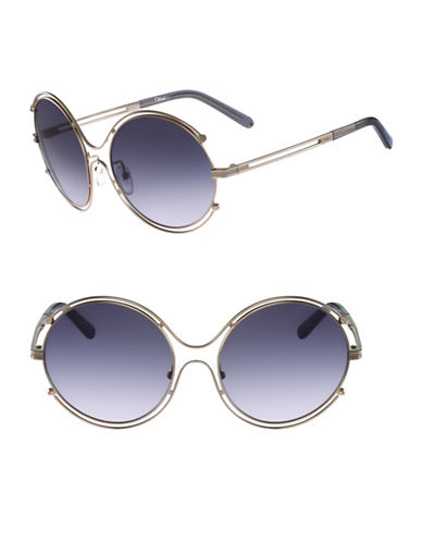 Chloé CE122S Isidora Sunglasses-GOLD/GREY-One Size