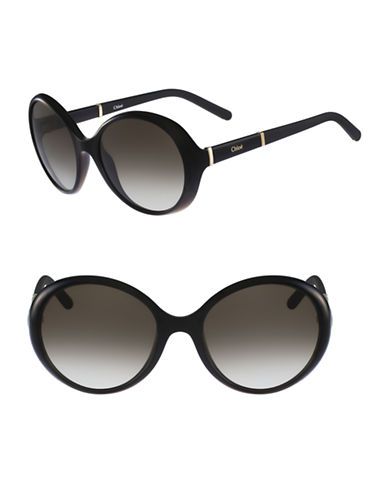 Chloé CE687S Daisy Sunglasses-BLACK-One Size