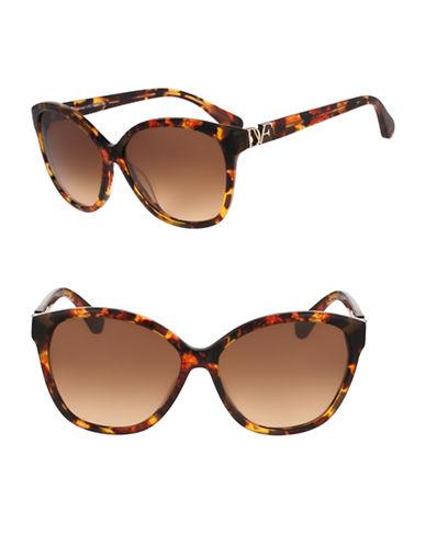 Diane Von Furstenberg Harper 58mm Cat-Eye Sunglasses-TOKYO TORTOISE-One Size