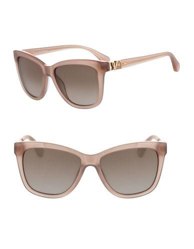 Diane Von Furstenberg 56mm Ivy Sunglasses-IVORY / BLUSH-One Size