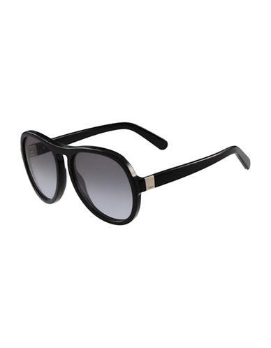 Chloé 59MM Gradient Sunglasses-BLACK-One Size