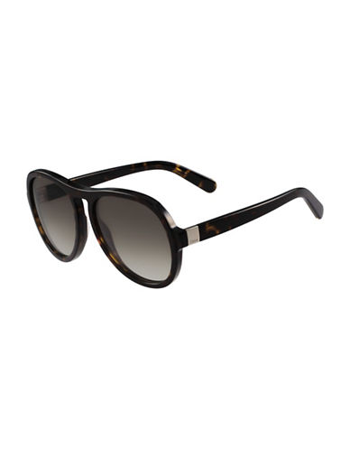 Chloé 59MM Gradient Sunglasses-TORTOISE-One Size