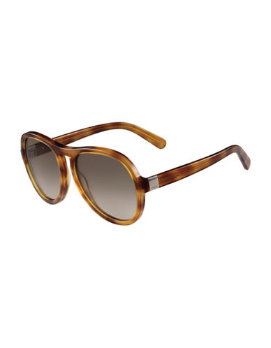 Chloé 59MM Gradient Sunglasses-HAVANA-One Size