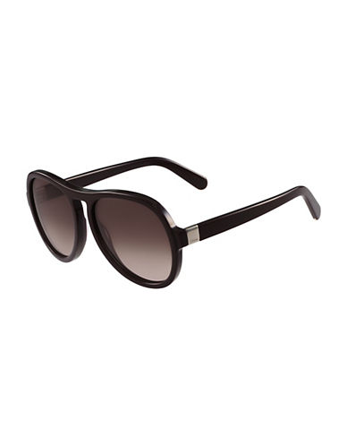 Chloé 59MM Gradient Sunglasses-RED-One Size