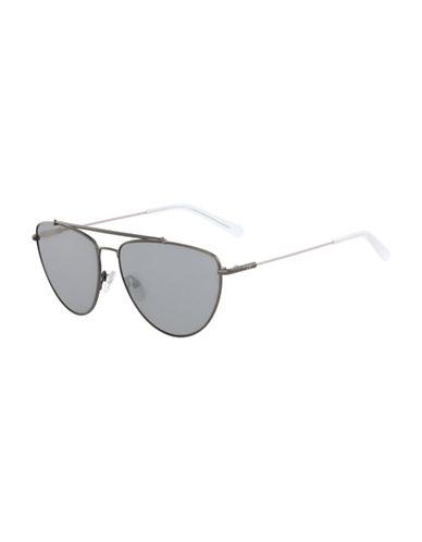 Diane Von Furstenberg Krista 60MM Aviator Sunglasses-GREY-One Size