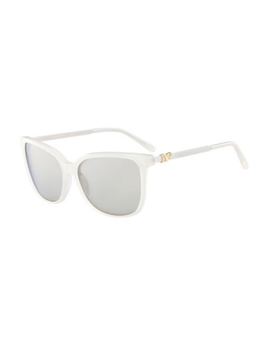 Diane Von Furstenberg Joanna 58MM Gradient Sunglasses-WHITE-One Size