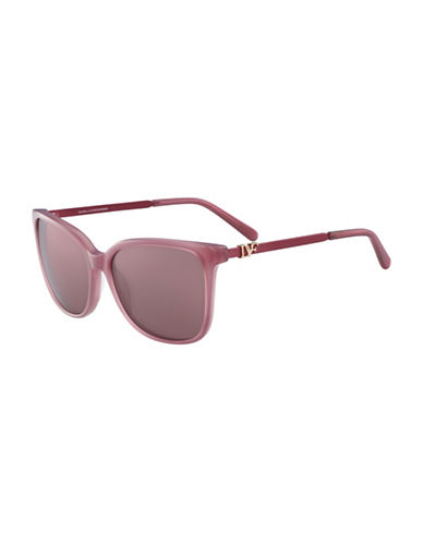 Diane Von Furstenberg Joanna 58MM Gradient Sunglasses-RED-One Size