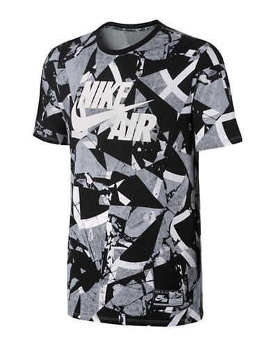 Nike Air T-Shirt-BLACK-Medium 88925627_BLACK_Medium