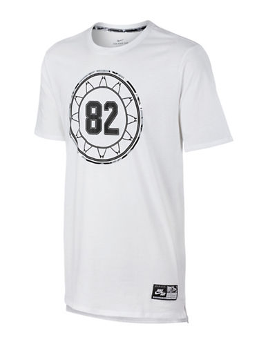 Nike Air Four T-Shirt-WHITE-Small 88925646_WHITE_Small