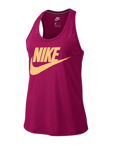 Nike Essential Tank Top-SPORT FUSCHIA-X-Small