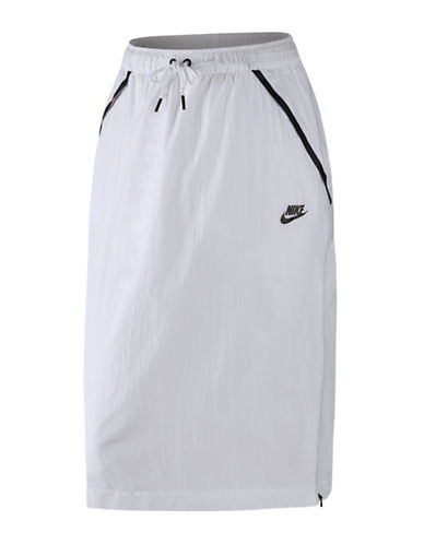Nike Hyper Mesh Skirt-WHITE-Large