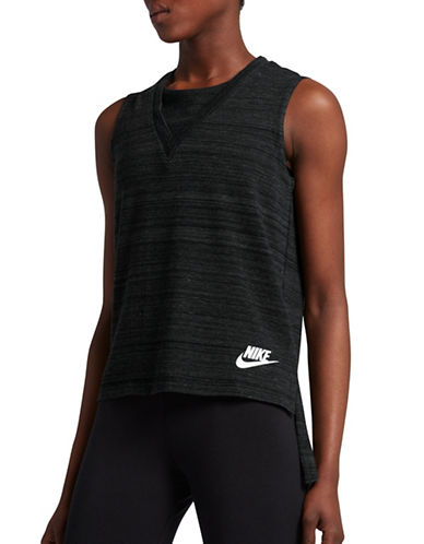 Nike Sportswear Advance Tank Top-BLACK-X-Large