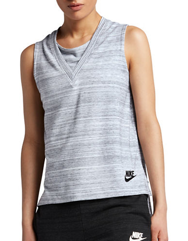 Nike Sportswear Advance Tank-WHITE-X-Small