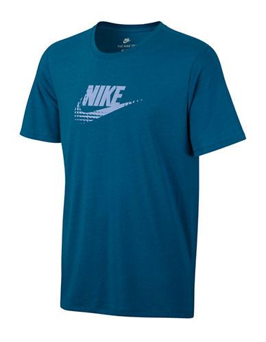 Nike Crew Neck Sportswear Tee-BLUE-X-Large 89157379_BLUE_X-Large