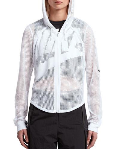 Nike Sportswear Hoodie-WHITE-X-Small