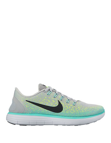 Nike Free Run Distance Sneakers-GREY-11 88747834_GREY_11