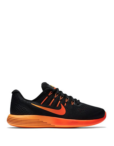 Nike LunarGlide 8 Running Shoes-BLACK/RED-8 88528413_BLACK/RED_8