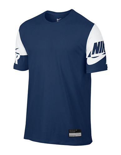 Nike Nike Air Sleeve T-Shirt-BLUE-Large 88734579_BLUE_Large
