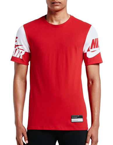 Nike Air Sleeves Tee-RED-X-Large 89087449_RED_X-Large